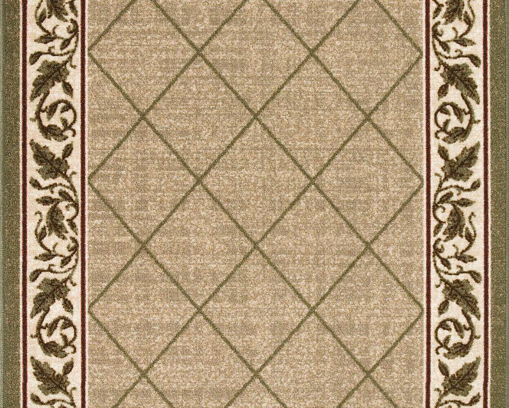 Regent Tan Carpet Runner 26 in x Custom Length (Price per linear foot)