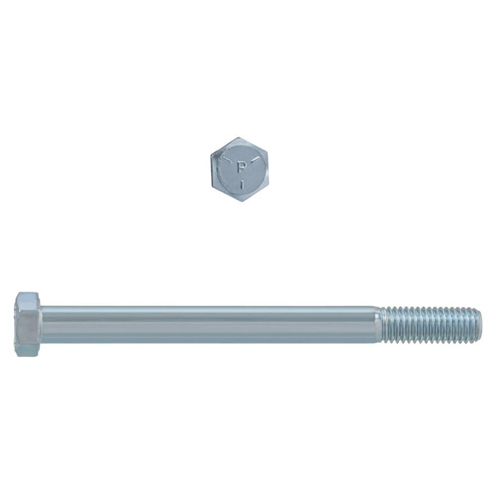1/2x6 Boulons Hex Classe 5 Zinc Plaqué Unc