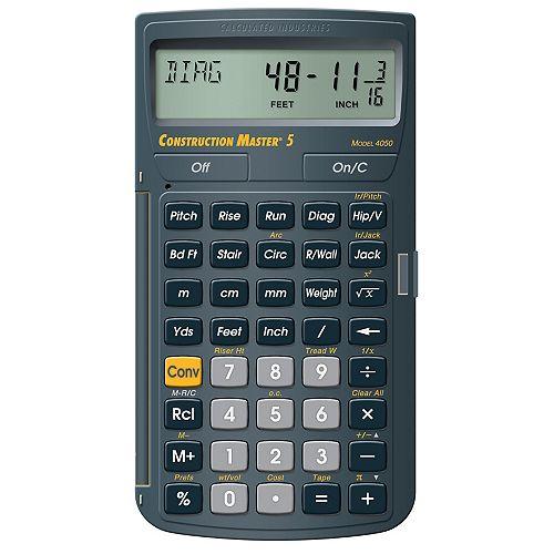 Construction Master Calculator