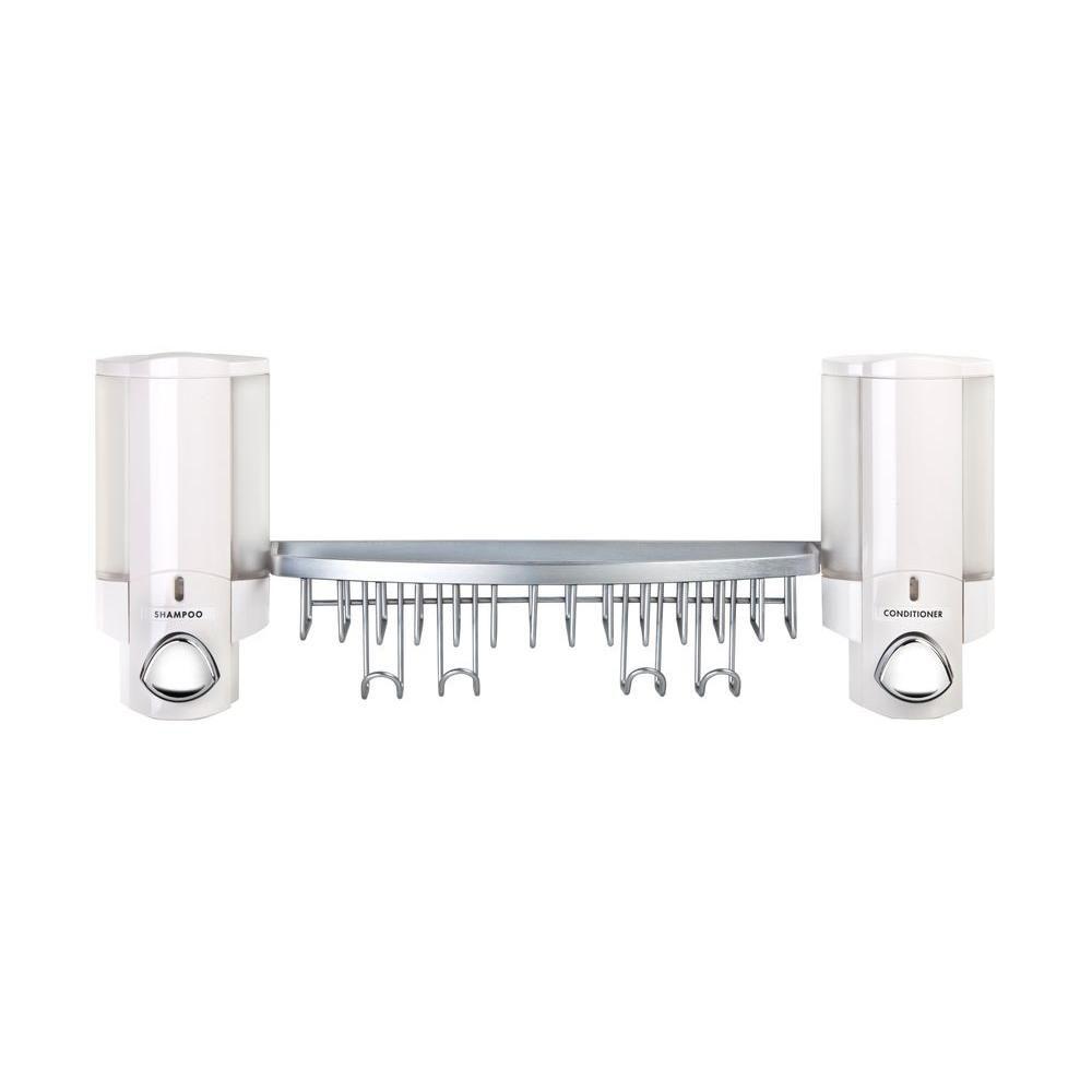 Aviva AVIVA Dispenser Shower Basket in White