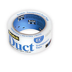 3M  2120 Transparent Duct Tape