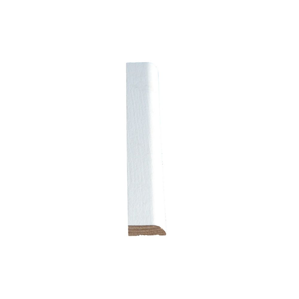 Vinyl Wrap White Door Stop 5/16 In. x 1-1/16 In. x 7 Ft.