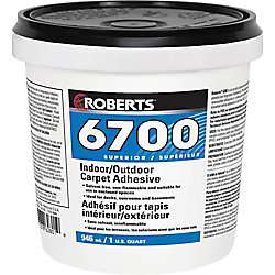 Roberts 6700, 946mL Adhésif et colle pour tapis intérieur/extérieur