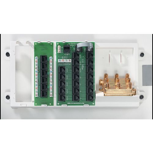 Leviton Advanced Home Telephone and Video Panel