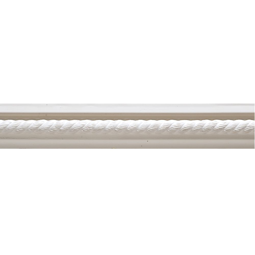 Primed Finger Joint Rope Chair Rail 21/32 x 1-9/32 - Sold Per 8 Foot Piece