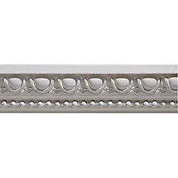 Ornamental Mouldings Primed Finger Joint Egg & Dart Chair Rail 27/32 x 1-15/16 - Sold Per 8 Foot Piece