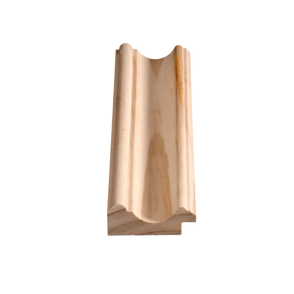 Solid Clear Pine Chair Rail 15/16 In. x 2-3/8 In. x 8 Ft.