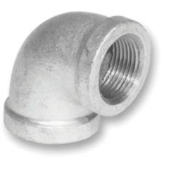 Aqua-Dynamic Fitting Galvanized Iron 90 Degree Elbow 3/8 inch
