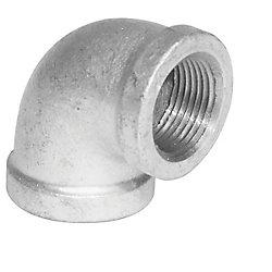 Aqua-Dynamic Fitting Galvanized Iron 90 Degree Elbow 3/4 inch