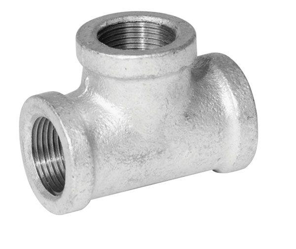 Aqua-Dynamic Fitting Galvanized Iron Tee 1 Inch