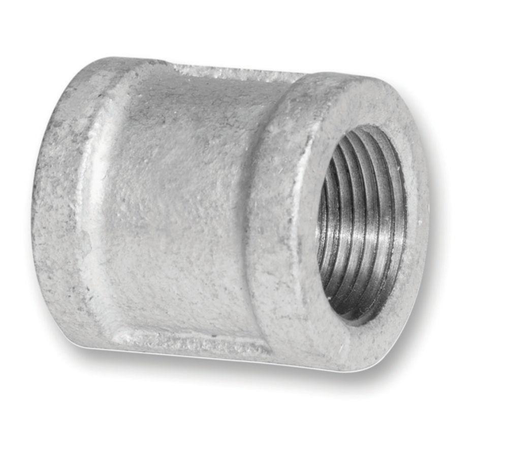 Aqua-Dynamic Fitting Galvanized Iron Coupling 3/8 inch