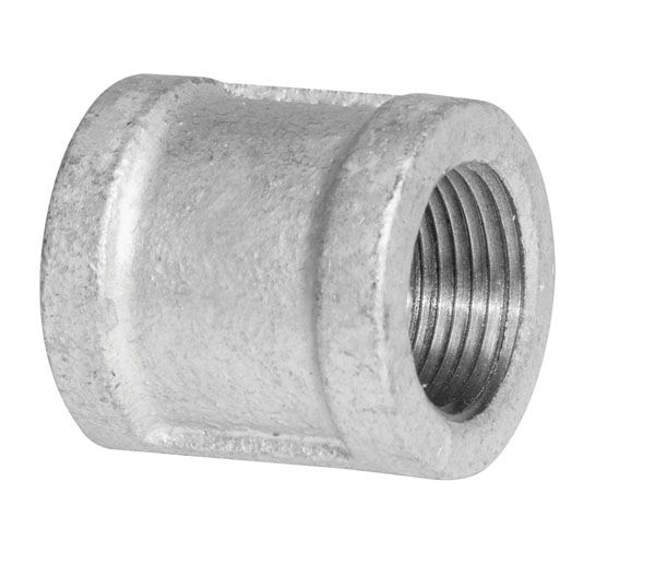 Aqua dynamic fitting galvanized iron coupling inch