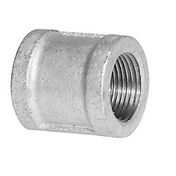 Aqua-Dynamic Fitting Galvanized Iron Coupling 1/2 Inch