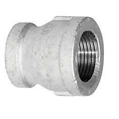 Fitting Galvanized Iron Coupling 1/2 Inch x 1/4 Inch