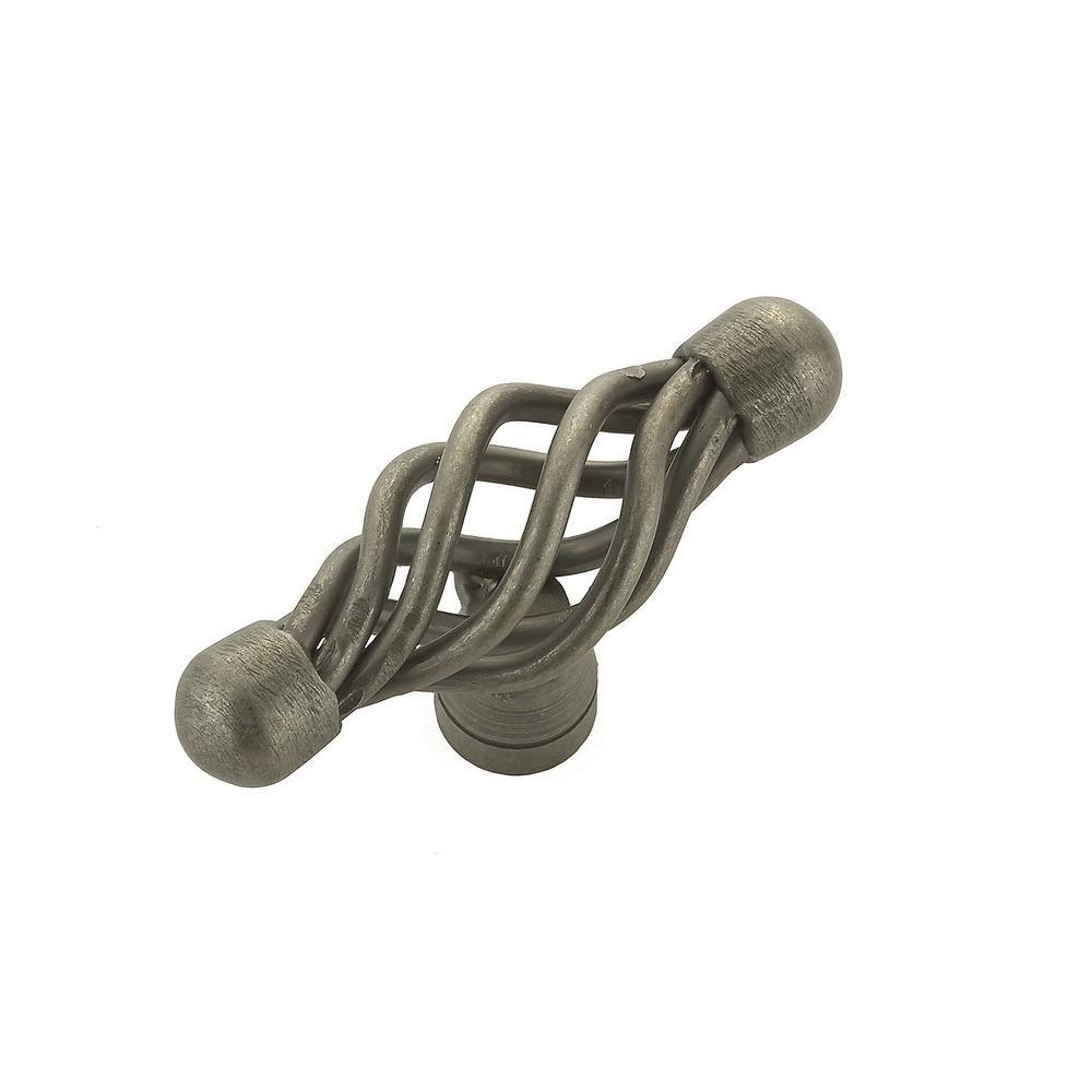 Transitional Metal Knob - Natural Iron - 55 mm Dia.