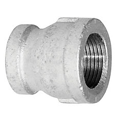 Aqua-Dynamic Fitting Galvanized Iron Coupling 3/4 Inch x 1/2 Inch