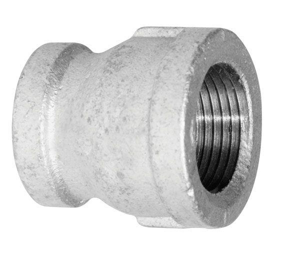 Aqua-Dynamic Fitting Galvanized Iron Coupling 3/4 Inch x 1/2 Inch