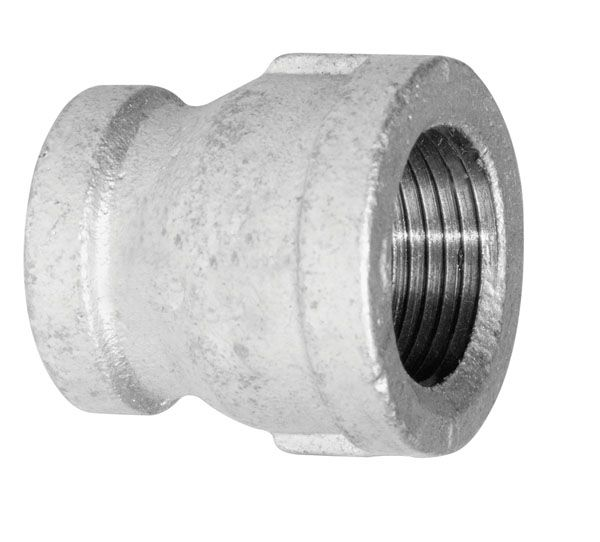 Fitting Galvanized Iron Coupling 1 Inch x 3/4 Inch