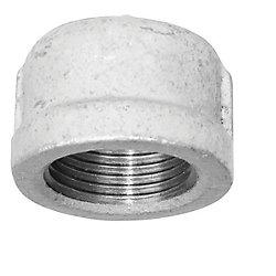 Aqua-Dynamic Fitting Galvanized Iron Cap 1 Inch