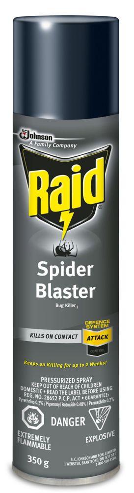 raid spider blaster the home depot canada. Black Bedroom Furniture Sets. Home Design Ideas