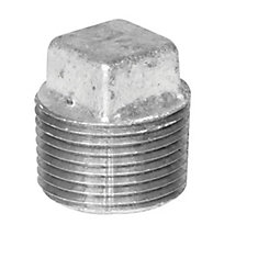 Fitting Galvanized Iron Plug 1/2 Inch