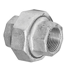 Aqua-Dynamic Fitting Galvanized Iron Union 3/4 Inch
