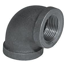 Fitting Black Iron 90 Degree Elbow 3/8 Inch