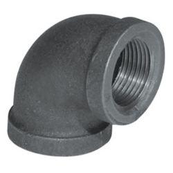 Aqua-Dynamic Fitting Black Iron 90 Degree Elbow 1/2 Inch