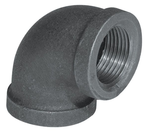 Fitting Black Iron 90 Degree Elbow 1 Inch 5520-005 Canada Discount