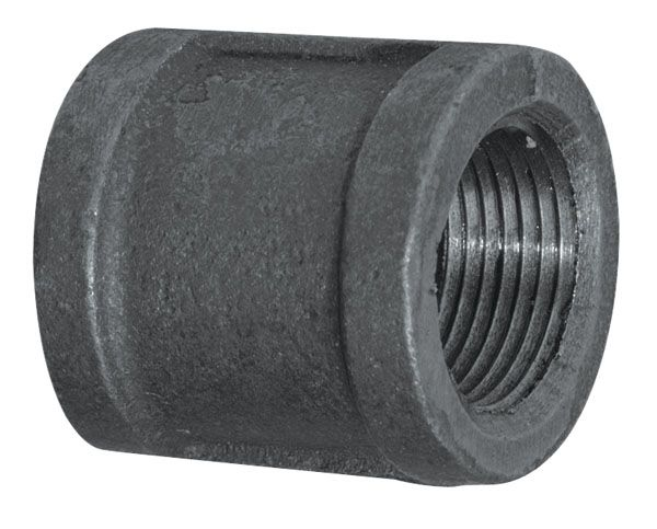 Fitting Black Iron Coupling 3/8 Inch