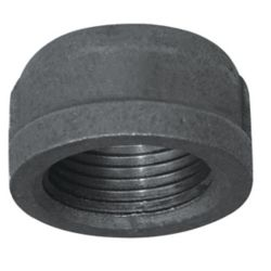 Aqua-Dynamic Fitting Black Iron Cap 1/4 Inch