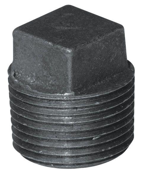 Aqua-Dynamic Fitting Black Iron Plug 3/8 Inch