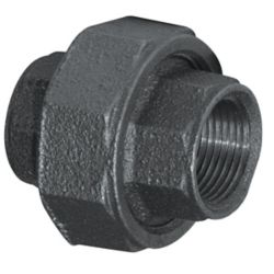 Aqua-Dynamic Fitting Black Iron Union 1/2 Inch
