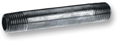 Black Steel Pipe Nipple 1/8 Inch x 2 Inch