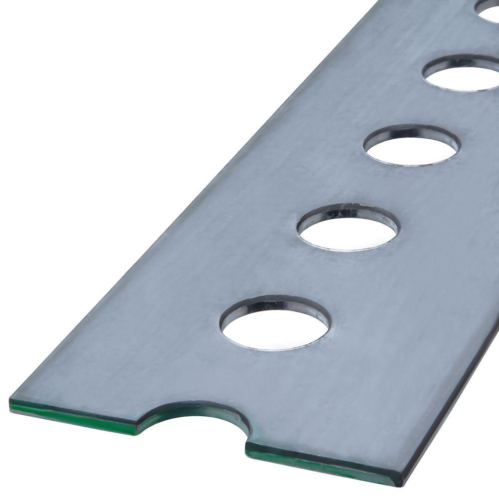 Papc1 3/8x.074x48Slotted Flats