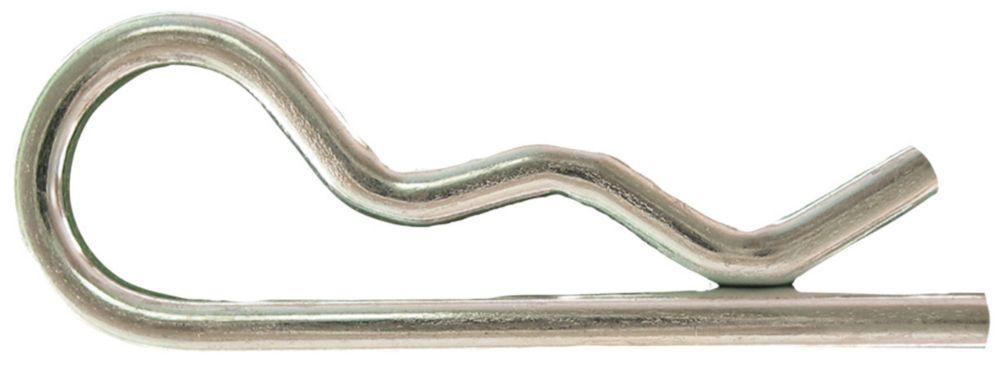 1/8x1-3/4 pince d'epingle a cheveux plaque