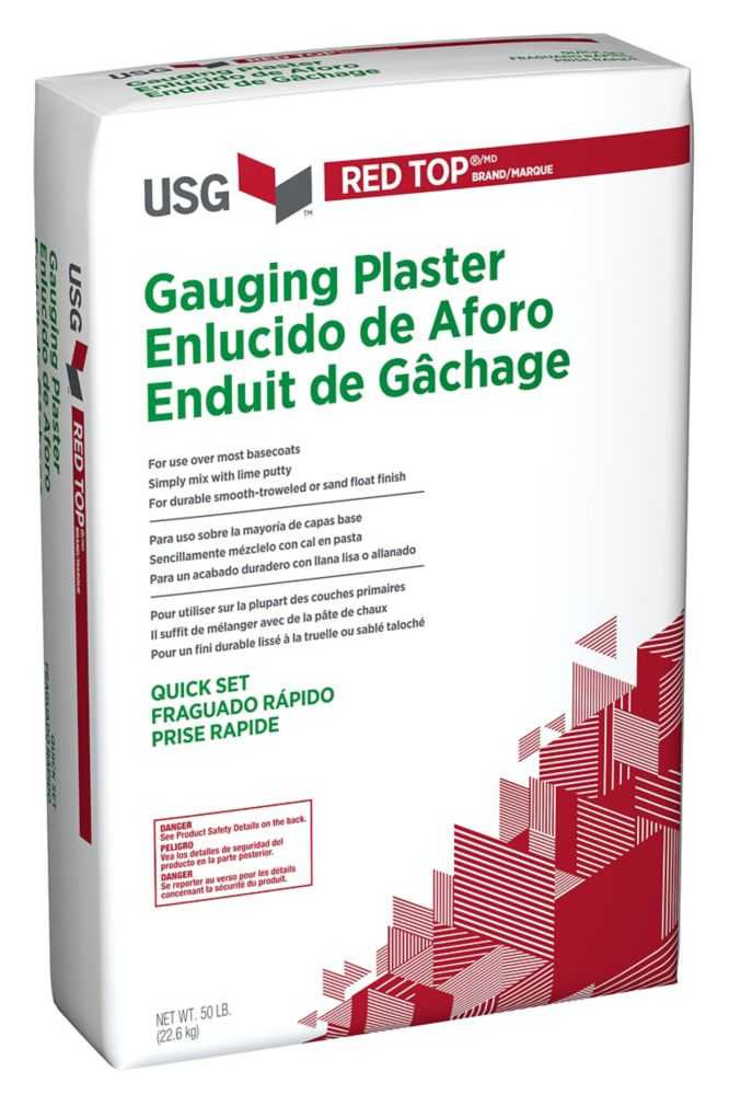 Synko synko lite line all purpose 17l the home depot canada for Red top gypsum plaster