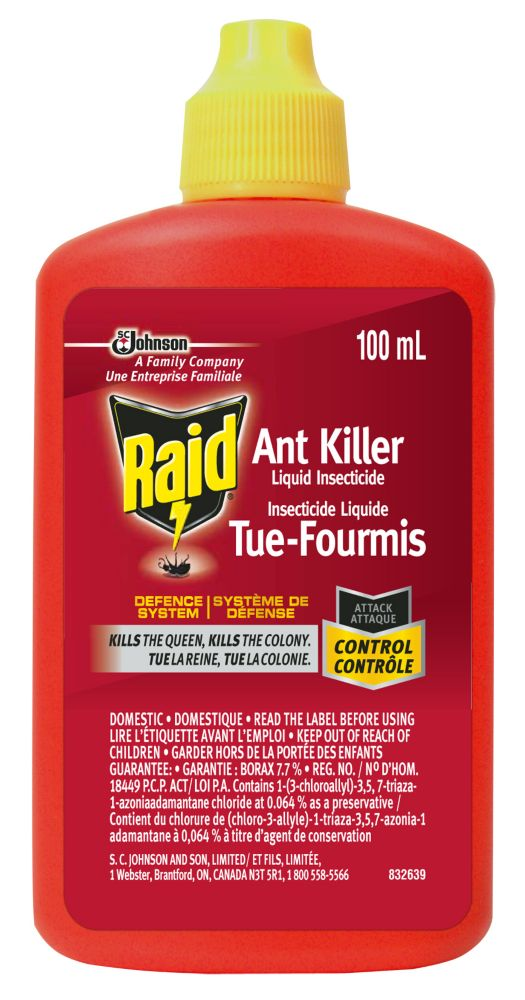 Raid Insecticide Liquide Tue-Fourmis