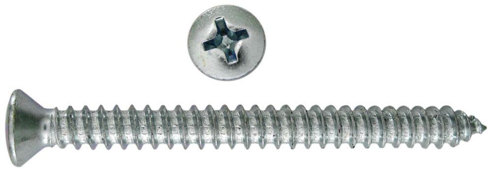 8X1 1/4 Trim Screw Oval Phil Sm Hd
