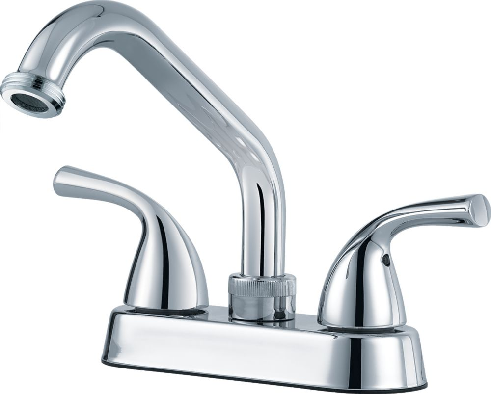 Delta Classic Two Handle Laundry Faucet, Chrome 2138