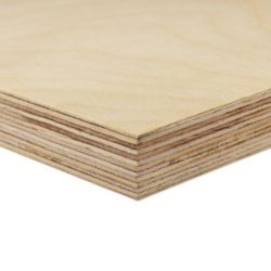 Alexandria Moulding 17.5 mm (3/4 inches)  x 2 Feet x 4 Feet Russian Birch Handy Panel