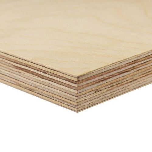 Alexandria Moulding 17.5 mm (3/4 inches)  x 2 Feet x 4 Feet Russian Birch Handy Panel