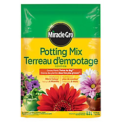 Miracle-Gro Potting Mix 0.21-0.11-0.16 - 8.8L