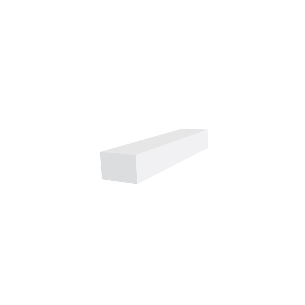 1-inch x 2-inch Trimplank Moulding