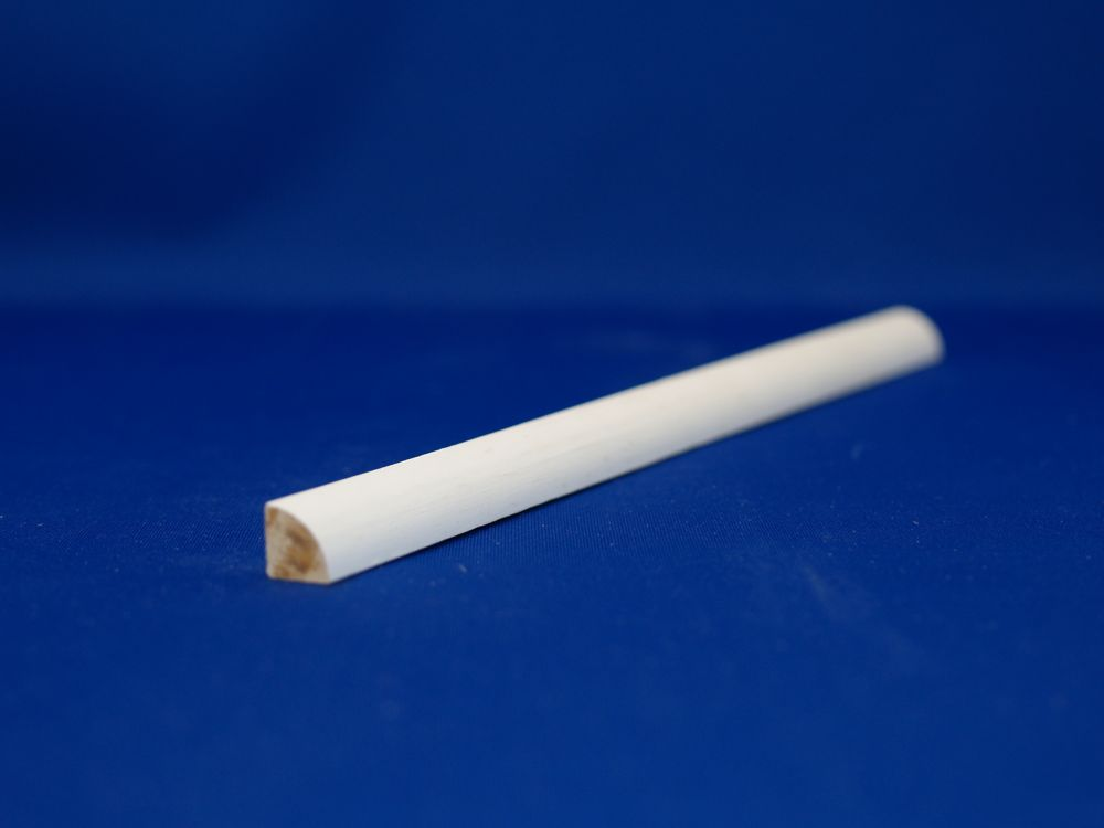 Primed Finger Jointed Pine Quarter Round 1/2 In. x 1/2 In. x 8 Ft.
