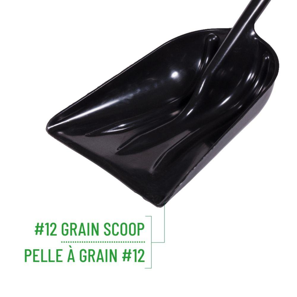Garden Care Poly Grain Scoop #12, Ergo Grip