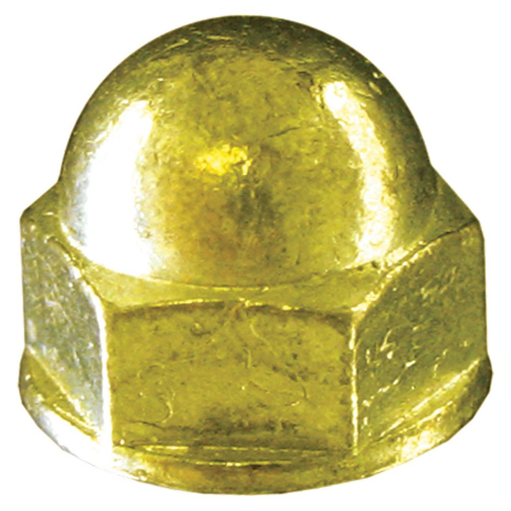 10-24 Brass Acorn Nut