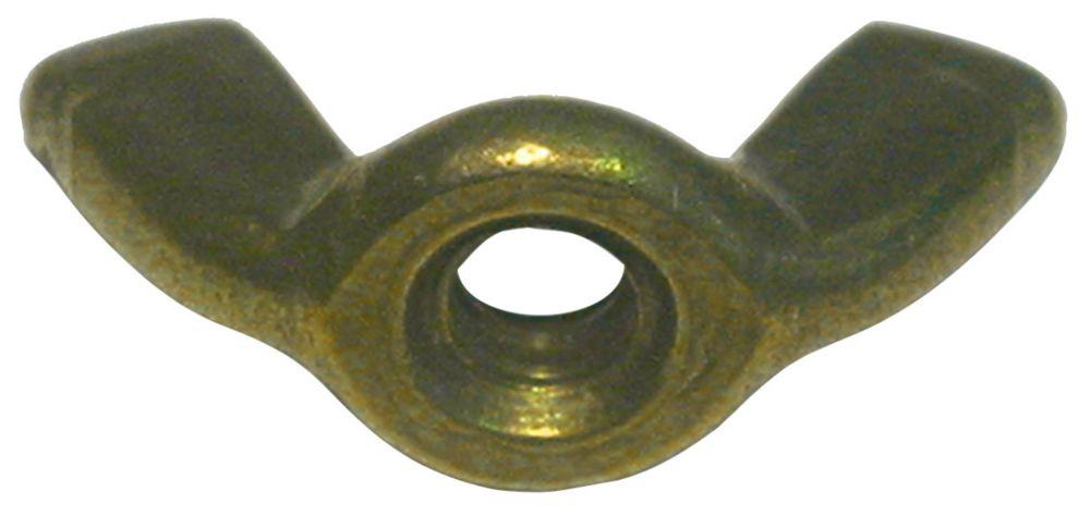 10-24 Brass Wing Nut