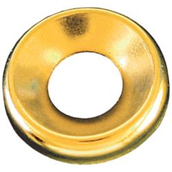 Paulin #8 Brass Finish Washer Plain