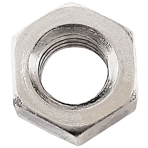M12-1.75 Class 8 Metric Hex Nut-DIN 934 - Zinc Plated